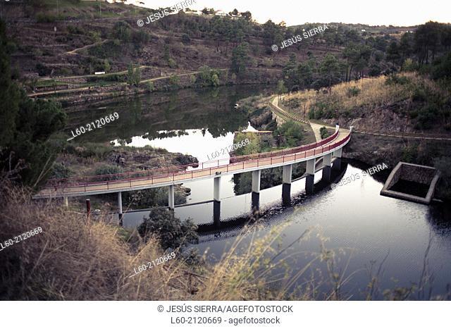 Bridge in Miranda do Douro, Braganza, Portugal