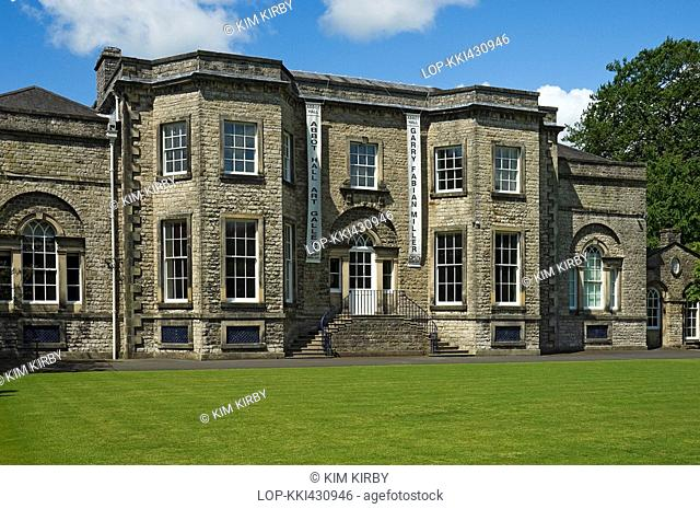 England, Cumbria, Kendal, Abbot Hall Art Gallery and Museum