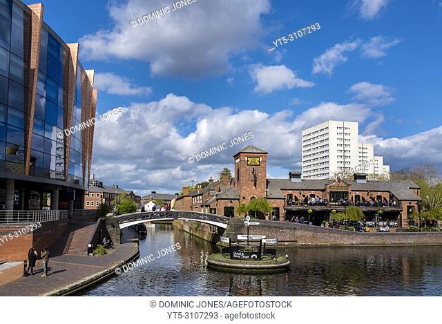 Brindley Place, Birmingham, England, Europe