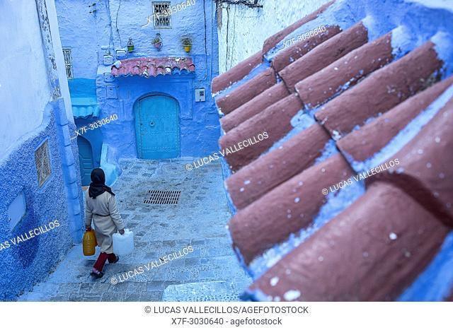 Chefchaouen, medina. Morocco