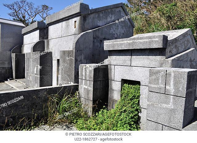 Naha Okinawa, Japan, Shikina Cemetery