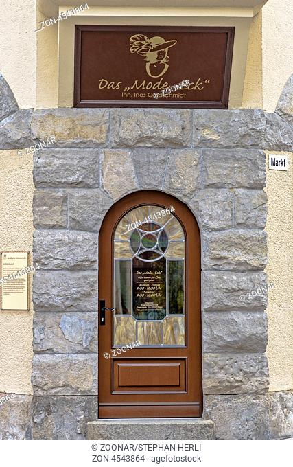 Commercial facade - Greizer Old Town