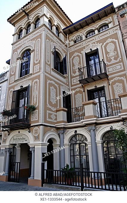Casa Soler, Modernism, 1911-1929, arq Joan Maymo Cabanellas, Pedralbes, Barcelona, Catalonia, Spain