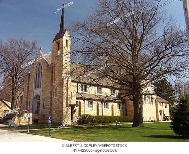 Catholic church, midwestern United States