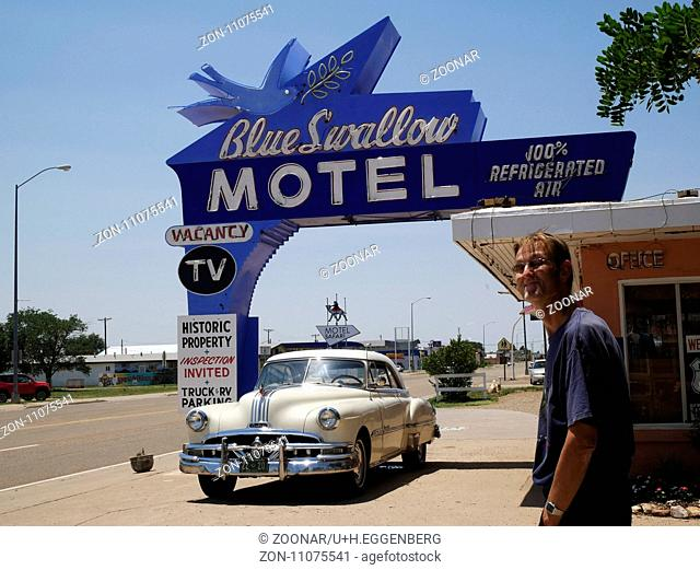 Historic Blue Swallow Motel,Tucumcari,Route 66