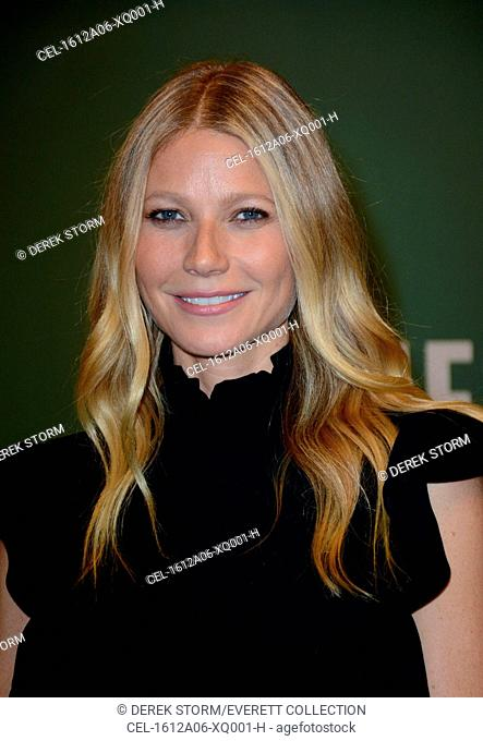 Gwyneth Paltrow at in-store appearance for Gwyneth Paltrow Book Signing for 'It's All Easy: Delicious Weekday Recipes for the Super-Busy Home Cook'