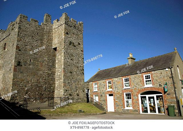 portaferry castle and tourist information centre county down northern ireland uk