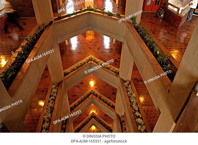 Modern architect of Mahindra and Mahindra head quarter in Worli Bombay Mumbai ; Maharashtra ; India 13-April-2009