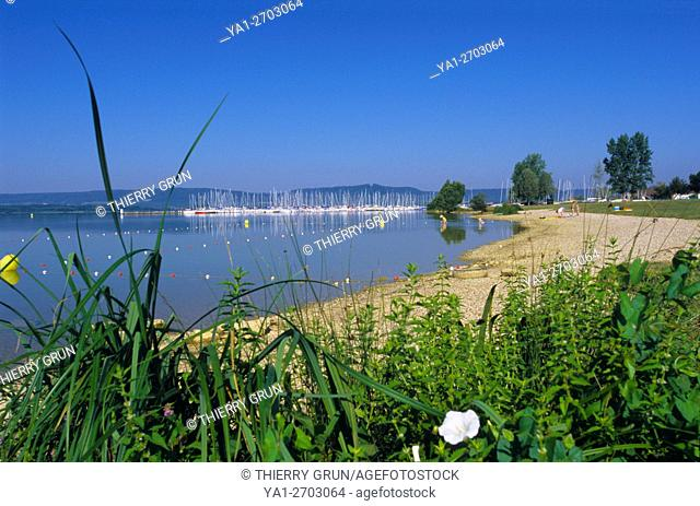 France, Meuse (55), Madine lake