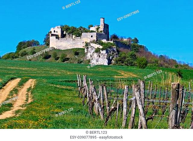Castle Falkenstein is a relatively intact castle ruin built in the 11th century in the village of the same name in lower Austria near the border to the Czech...
