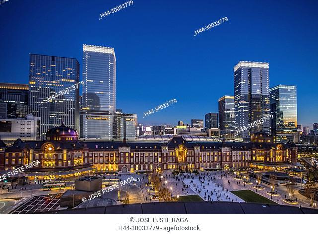 Japan , Tokyo City, Marunouchi District, Tokyo Station West Side