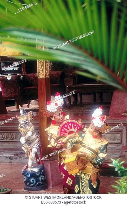 Legong dance. Bali. Indonesia