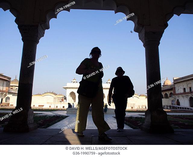 Men in Agra, Uttar Pradesh, India