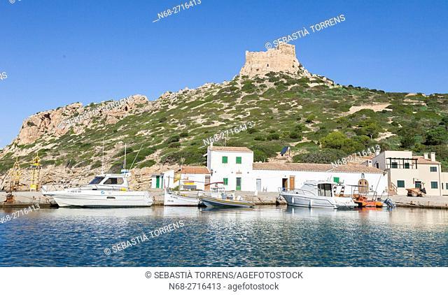 Port and castle of Cabrera