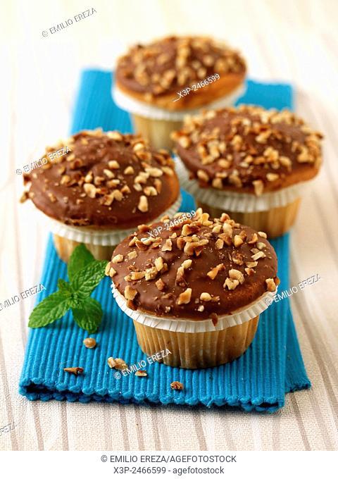 Hazelnuts muffins