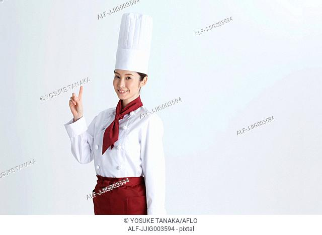Attractive Japanese chef