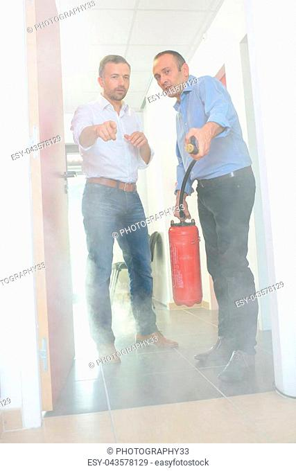 during fire danger
