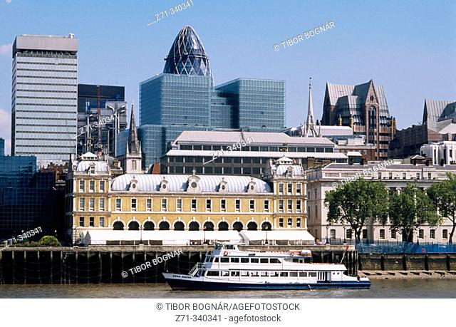 City skyline. London. England. UK