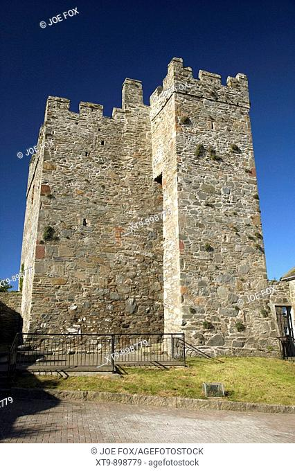 16th century portaferry castle tower house county down northern ireland uk