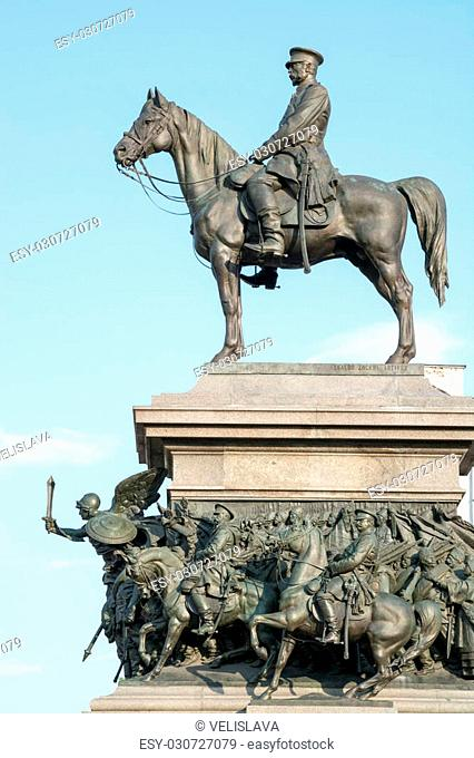 The monument of King Liberator is one of the most impressive monuments in Sofia, erected in honor of the liberation of Bulgaria in 1878