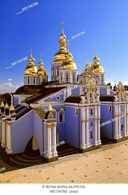 St. Michael Cathedral, St. Michael`s Golden-Domed Monastery, Kiev, Ukraine