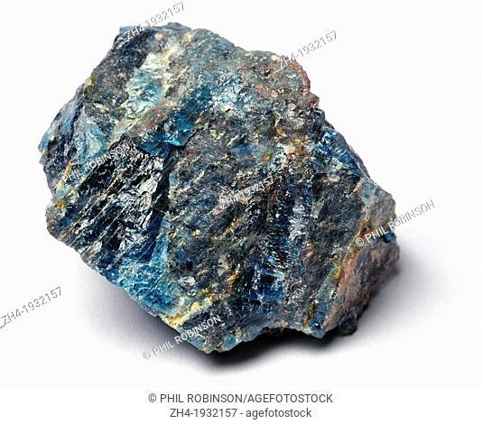 Blue Apatite (Madagascar) Calcium Phosphate