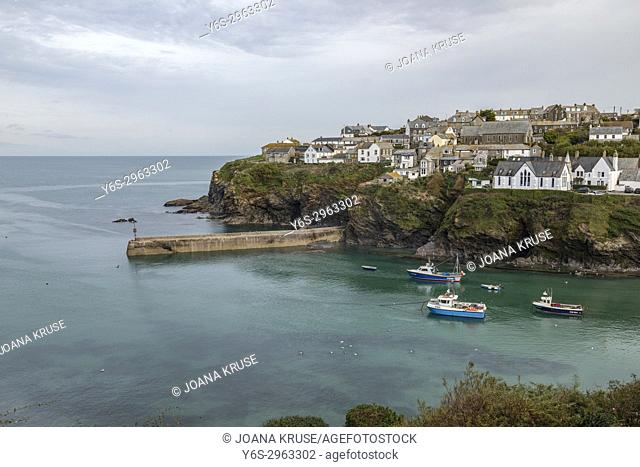 Port Isaac, Cornwall, England, United Kingdom