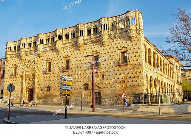 Palacio del Infantado (1480-83) by Juan Guas. Guadalajara. Spain