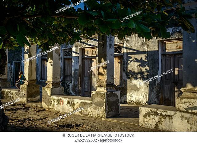 Street scene. Ibo Island. Mozambique