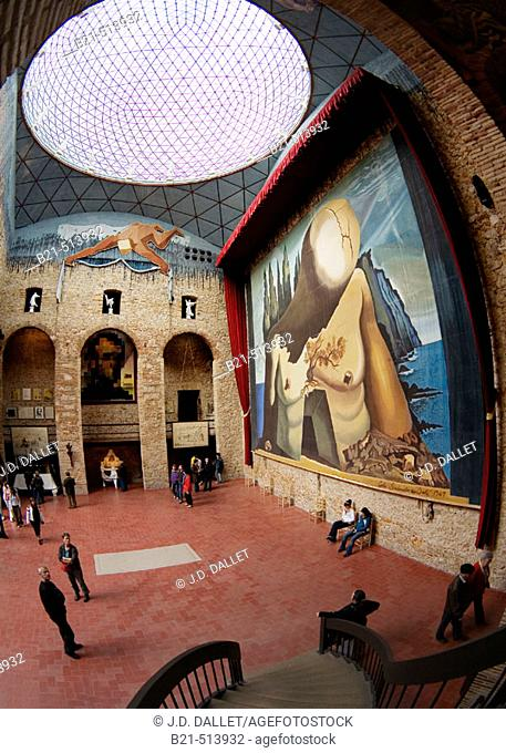 Dalí Museum, Figueres. Girona province, Catalonia, Spain