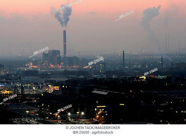 DEU, Germany, Oberhausen : Industrial area, incinerating plant