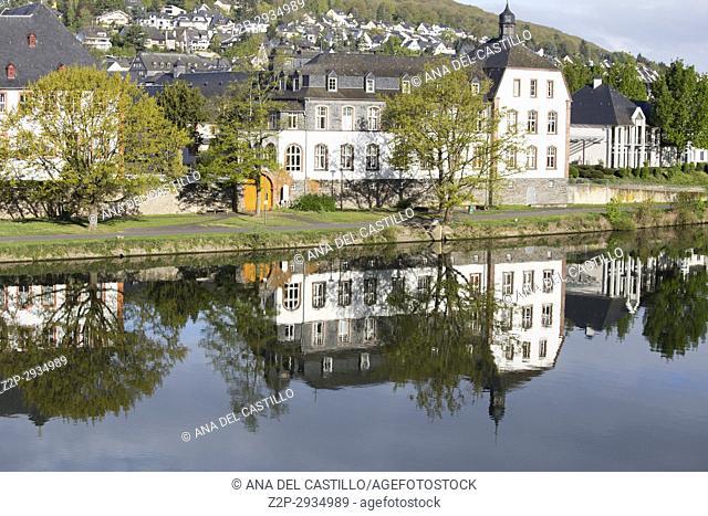 Bernkastel-Kues - town in Rhineland-Palatinate region of Germany Moselle river