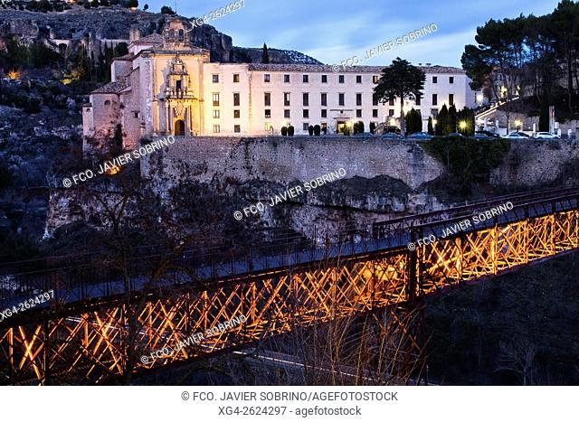 Puente y convento de San Pablo, Parador Nacional de Turismo - Cuenca, Castile-La Mancha, Spain
