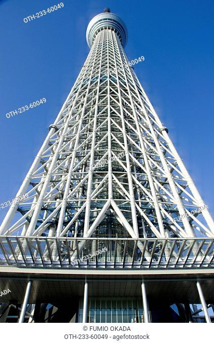 The Sky Tree, Tokyo, Japan