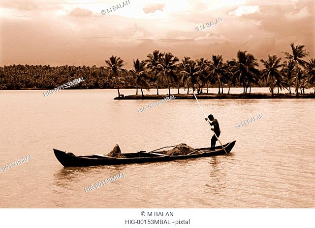 BACKWATERS, SOUTH PARAVOOR, KOLLAM, KERALA