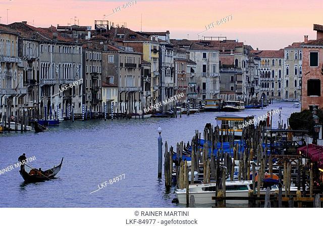 Gondola, Canal Grande, Venice, Veneto, Italy