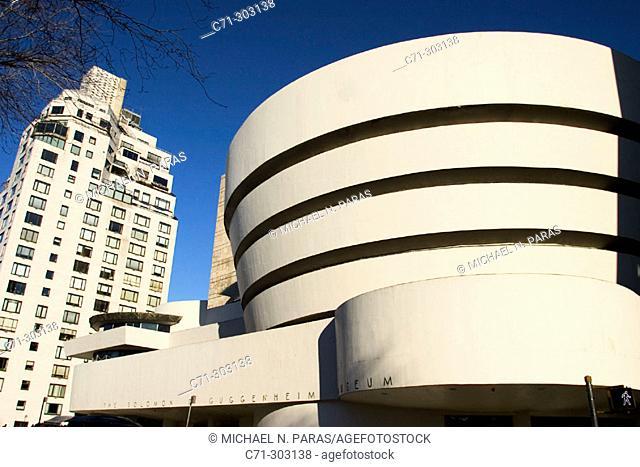 Guggenheim Museum, by Frank Lloyd Wright. New york City. USA