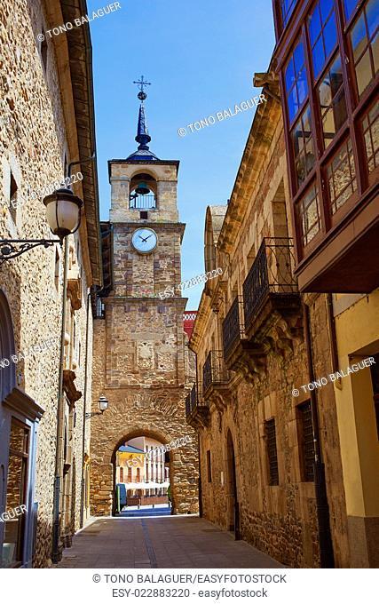 Way of Saint James by Ponferrada El Bierzo of Leon