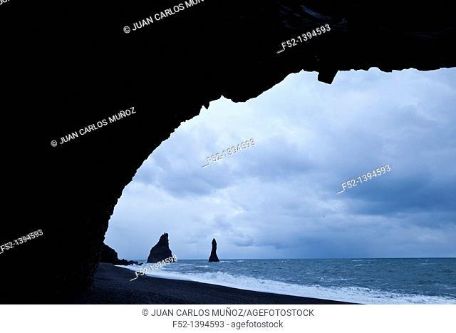 Reynisdrangar, Vik, Southern Iceland, Iceland, Europe