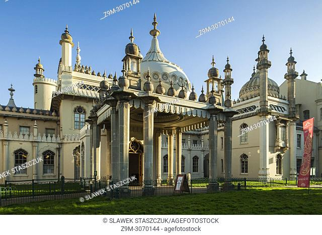 Royal Pavilion in Brighton, East Sussex, England