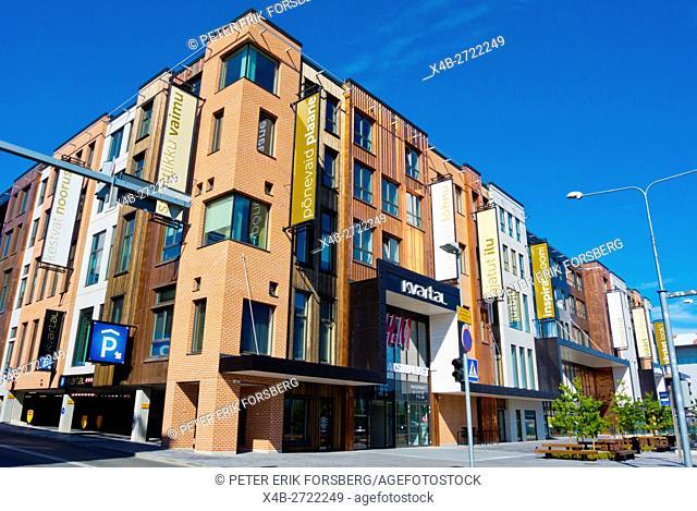 Kvartal, shopping centre opened May 2016, Tarto, Estonia, Baltic States, Europe