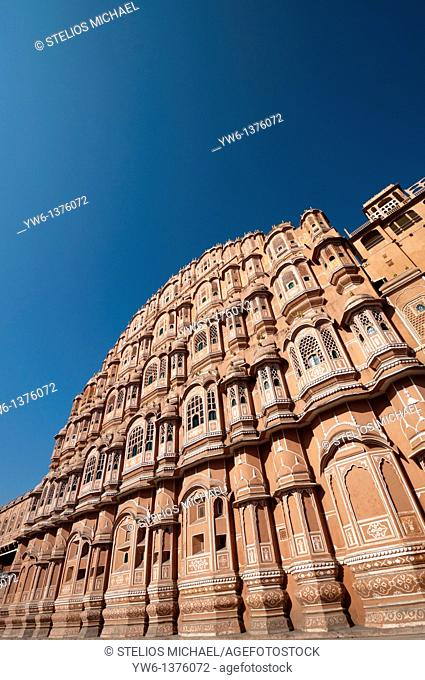 Hawa Mahal in Jaipur,Rajasthan,India