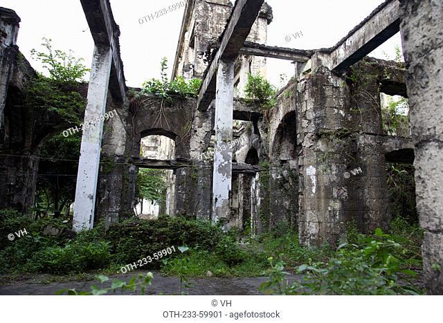 Aduana, ruins at Intramuros, Manila, Philippines