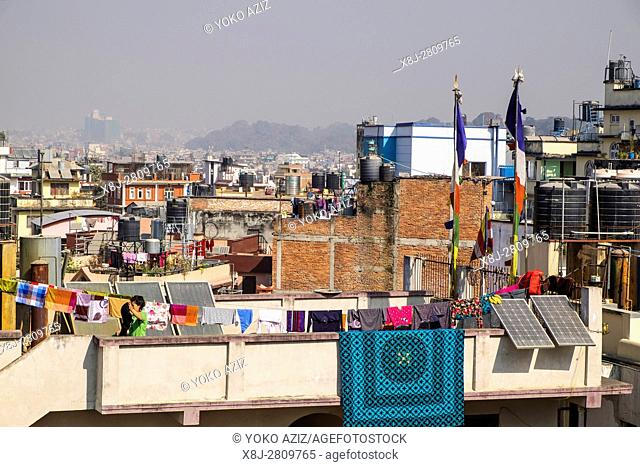Nepal, Kathmandu, landscape
