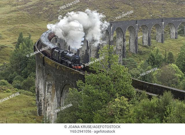 Glenfinnan, Lochaber, Highlands, Scotland, United Kingdom