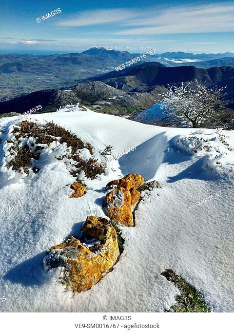Sierra de Peñamayor. Nava municipality, Asturias. Spain