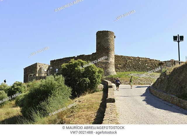 The castle of Aljezur, Algarve. Portugal
