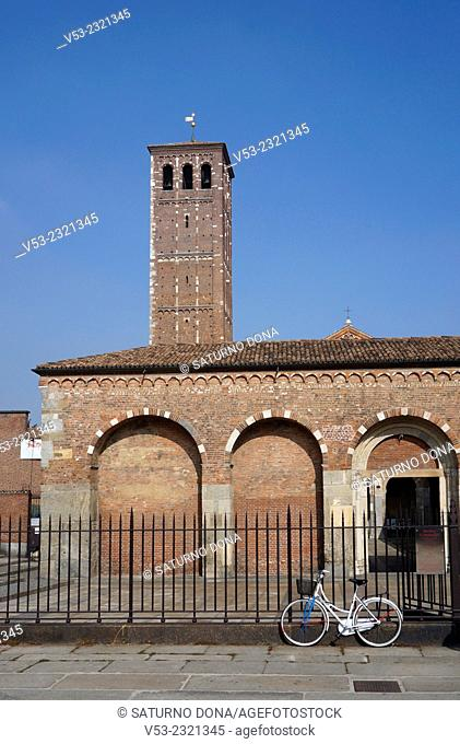 Sant'Ambrogio Basilica, Milan, Italy