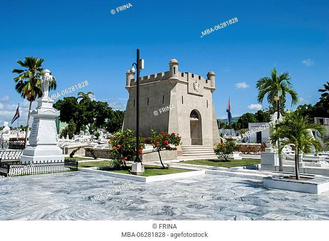 Tomb, Cementerio Santa Ifigenia, Santiago de Cuba, Cuba