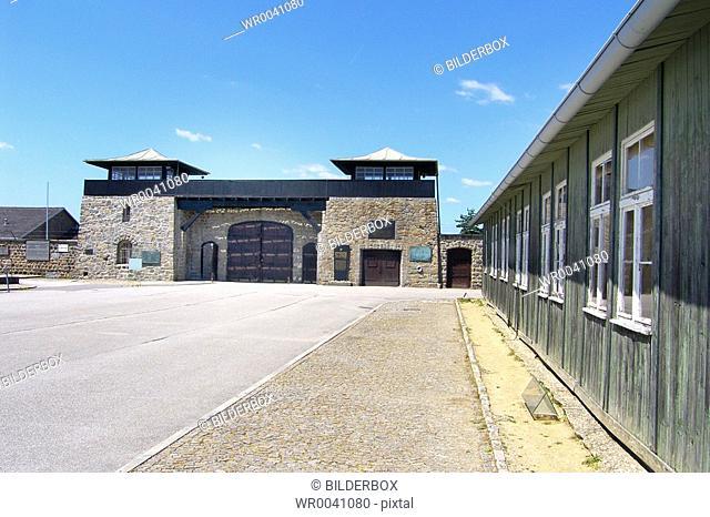 Austria, Upper-Austria, Mauthausen, concentration camp